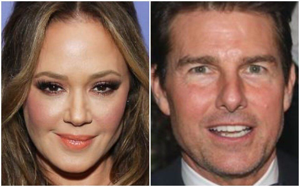 Leah Remini (left) lauded Thandie Newton for her candor in describing her filming experience with Tom Cruise.