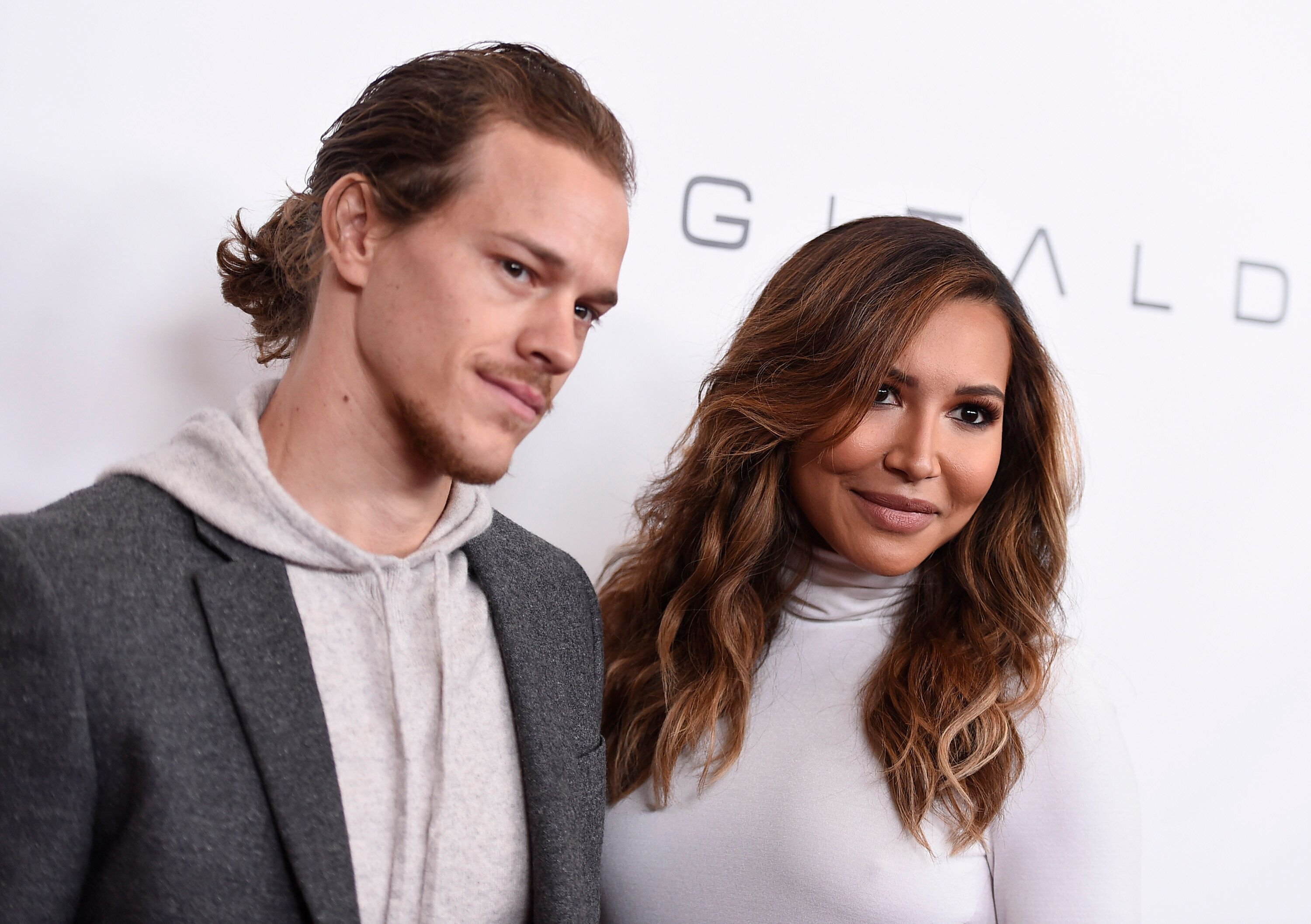 Ryan Dorsey and Naya Rivera in 2015.