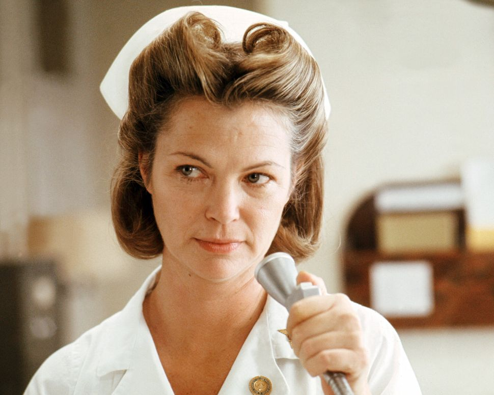 "Louise Fletcher in ""One Flew Over the Cuckoo's Nest."""