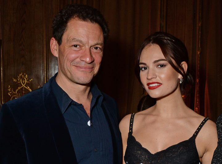 """West and Lily James previously co-starred in a 2011 production of """"Othello."""""""