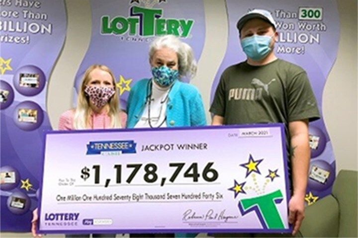 Sparta resident Nick Slatten was able to turn his luck around after finding his missing $1 million winning lottery ticket in