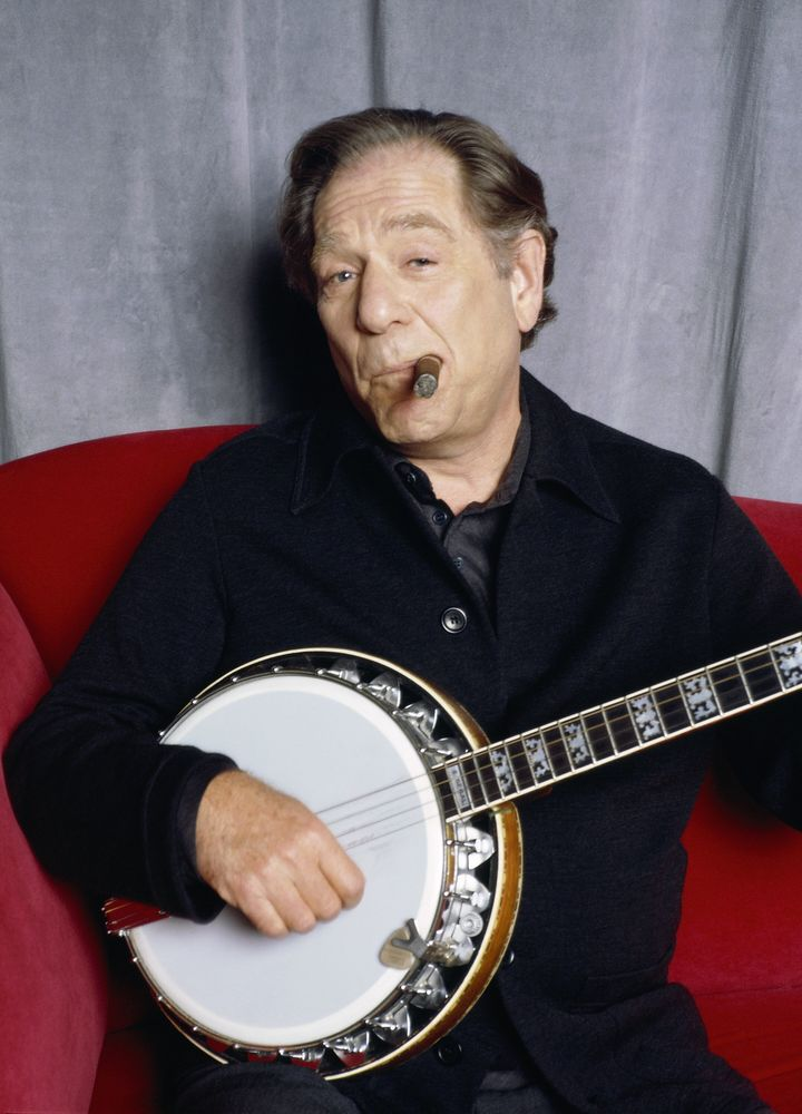 George Segal was also a banjo player.