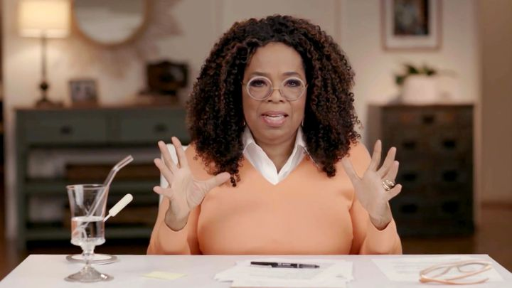 "Oprah Winfrey has admitted she was ""surprised"" at how open and forthcoming Meghan Markle and Prince Harry were du"