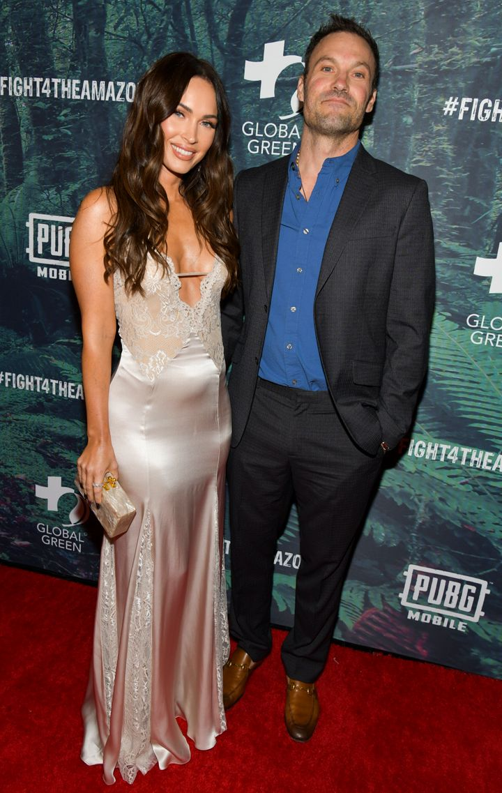 Megan Fox and Brian Austin Green at their last public appearance as a couple in 2019.
