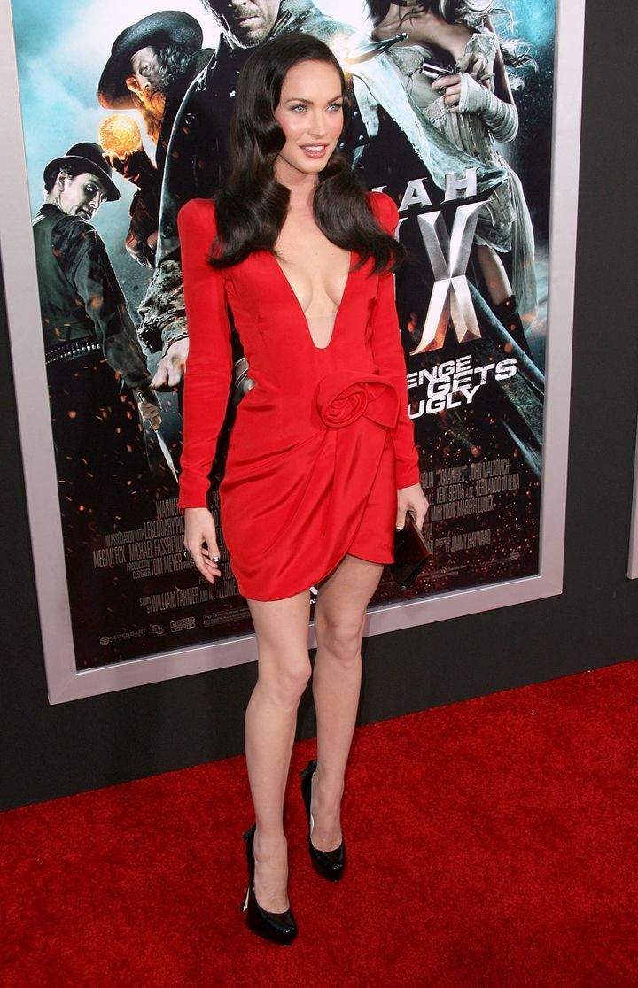 """Megan Fox arrives at the """"Jonah Hex"""" premiere in 2010."""