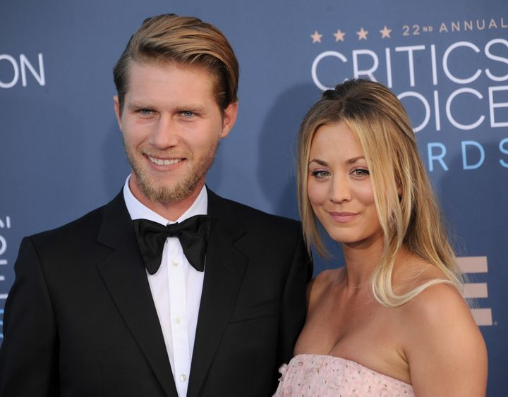 """Cuoco and Cook explained in their statement about their divorce that""""despite a deep love and respect for one anot"""